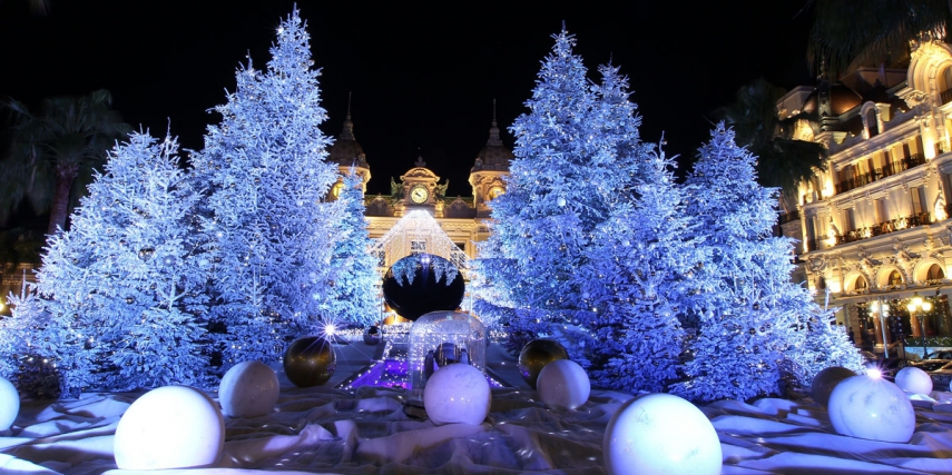 Christmas and New Years in Monaco